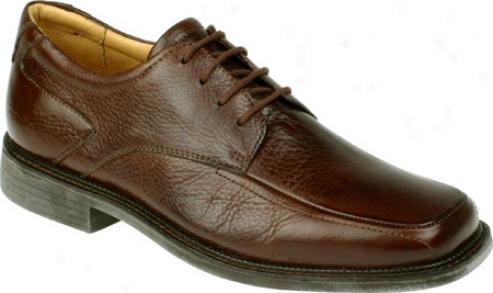Florsheim Brett (men's) - Brown Milledd Spfty Leather