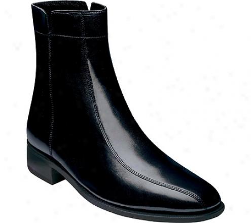 Florsheim Chatman (emn's) - Black Leather