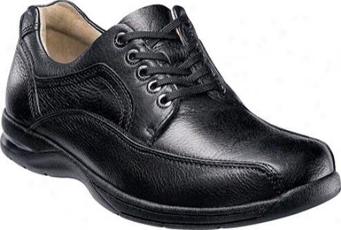 Florshei mDeaver (men's) - Black Milled Leather