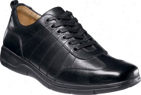 Florsheim Erwin (men's) - Black Smooth Leather