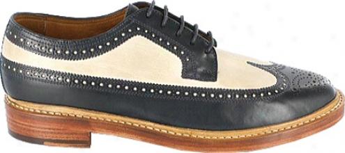 Florsheim Limited Veblen (men's) - Navy/bone Leather