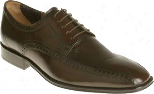 Florsheim Orlando (men's) - Brown Deerskin/cafl Leather