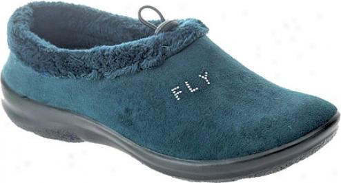 Fly Flot Amara (women's) - Blue Microsuede