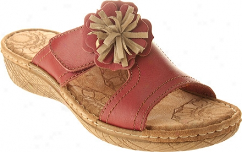 Fly Flot Celebrity (women's) - Red Leather