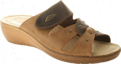 Fly Flot Satellite (oomen's) - Tan/brown Combo Leather