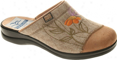 Fly Flot Pasture (women's) - Beige Wool