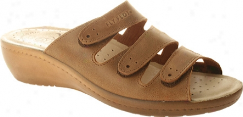 Fly Flot Sun (women's) - Tan Leather
