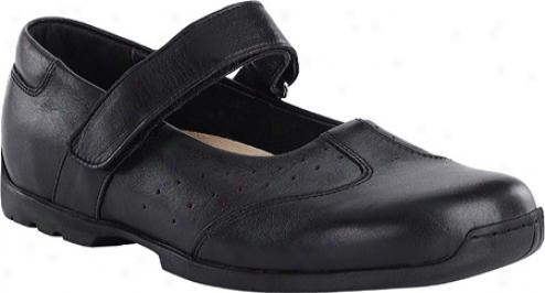 Footprints Pittsburg (women's) - Black Leather