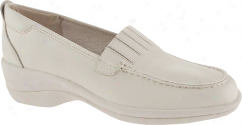 Footthrills Motion (women's) - White Leathee