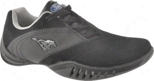 Forc Mustang Fm001 (men's) - Black Leather/suede