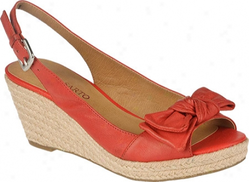 Franco Sarto Camino (women's) - Crimson Leather