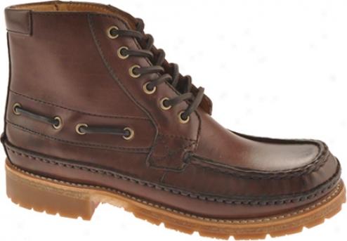 Frye Nolan Lace Up (men's) - Dark Brown Full Dye Leather