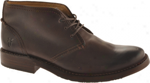 Frye Oliver Chukka (men's) - Dark Brkwn Leather