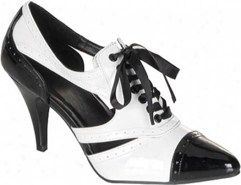 Funtasma Pump 458 (women's) - Black/white Open
