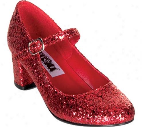Funtasma Schoolgirl 50g (women's) - Red Glitter