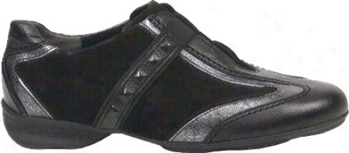Gabor 32-596 (women's) - Black Foulardcalf Kombi