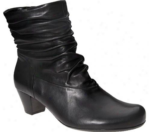 Gabor 36-671 (women's) - Black Foulardcalf