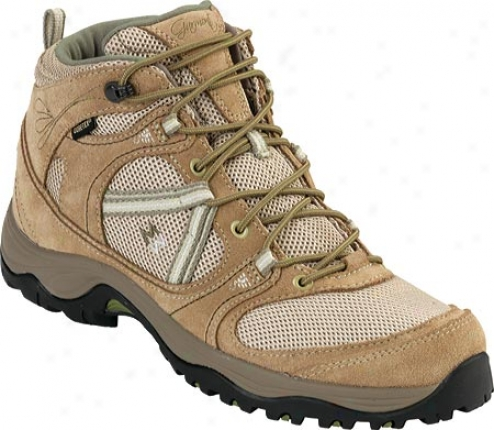Garmont Amica Mid (women's) - Sand/pale Green