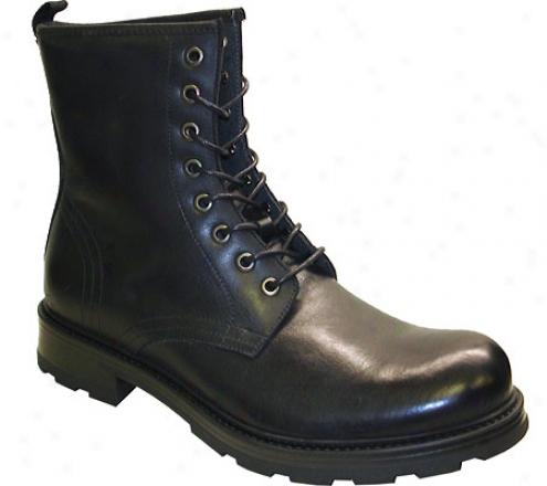 Gbx 9107 (men's) - Black Waxy Leather