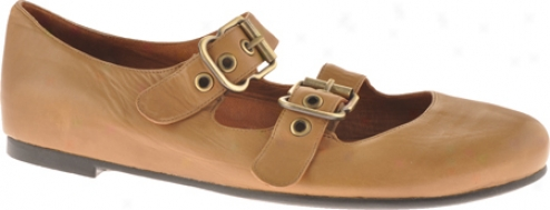 Gentle Souls Double Bet (women's) - Camel Leather