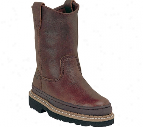 Georgia Boot G20 Little Georgia Giant Wellington (children's) - Soggy Brown Leather