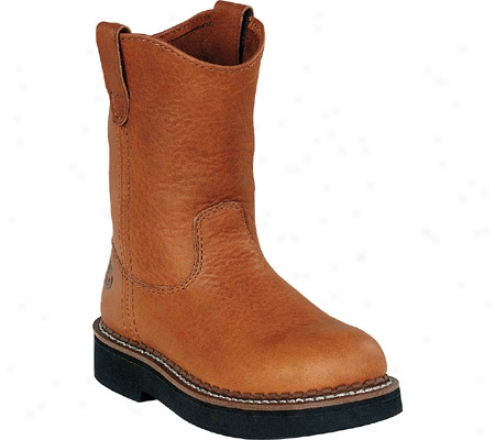 Georgia Boot G20 Side Zip Wellington (infants') - Soggy Brown Leather