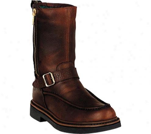 Georgia Boot G41 Waterproof Side Zip Moc Toe Wellington (men's) - Copper Kettle Soggy Leather