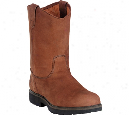 """georgia Boot G46 11"""" Safety Toe Sd Wellington Solace Core (men's) - Chocolate Gaucho Oiled Nubuck"""
