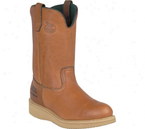 """georgia Boot G51 12"""" Wellington (men's) - Gold Coast Barracuda Spr Leather"""