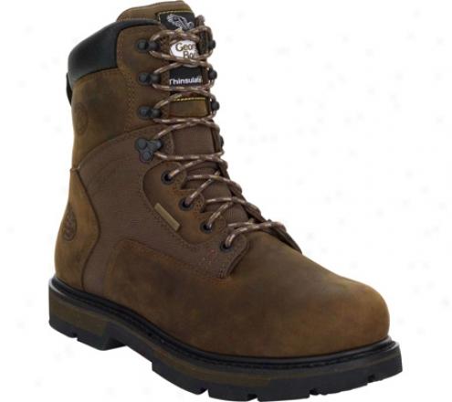 """""""georgia Boot G8134 8"""""""" Arctic Toe Insulated (men's) - Deer Brown"""""""