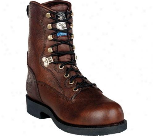 """""""georgia Boot G88 8"""""""" Boot Comfort Core (men's) - Roan Full Grain Leather"""""""