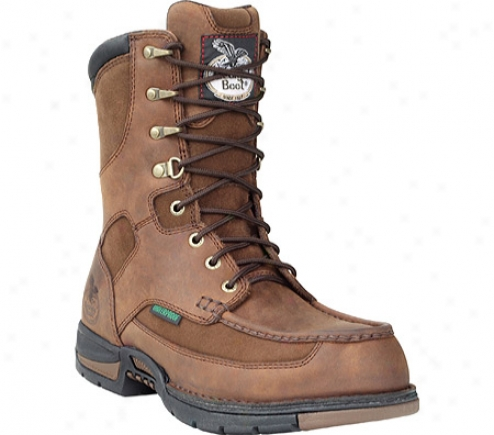 """georgia Boot  G9453 Aghens 8"""" Moc-toe (men's) -  Brown"""