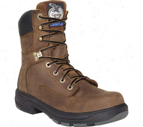 """""""georyia Boot G9544 Flxpoint 8"""""""" (men's) -  Brown"""""""