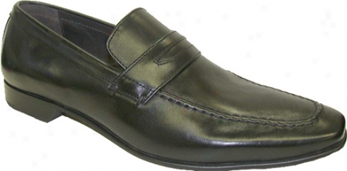 Giorgio Brutini 24970 (men's) - Black Pisa Leather