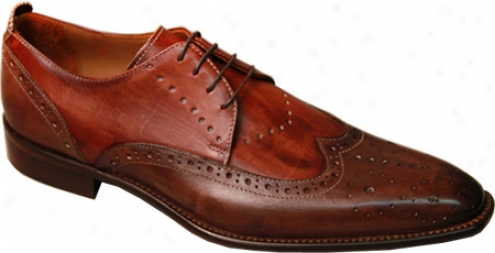 Giovanmi Marquez 8944 (men's) - Burnished Mahogany Leather