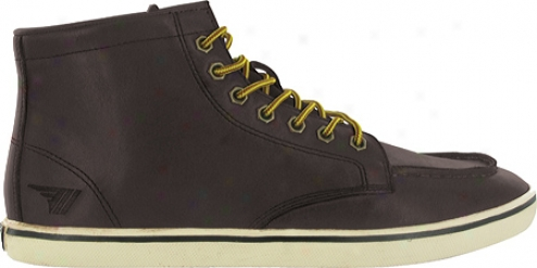 Gola Grow thin Leather (men's) - Black