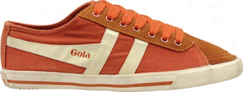 Gola Quota (women's) - Orange/ecru