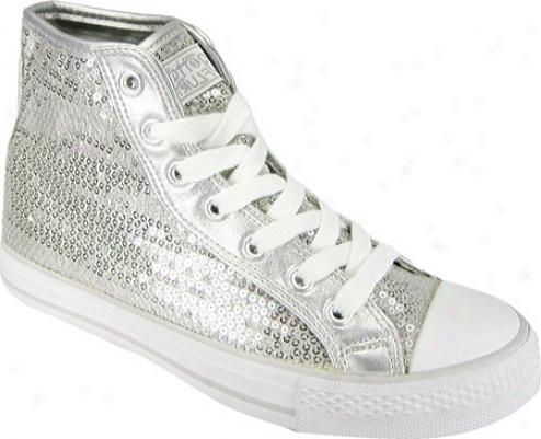 Gotta Flurt Hi Disco (women's) - Silver Sequin