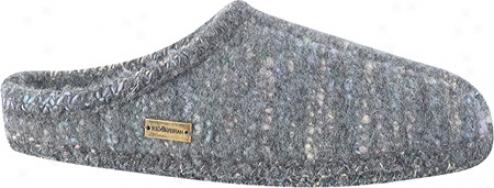 Haflinger Classic Slipper Multi - Grey