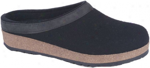Haflinger Leather State Grizzly - Black