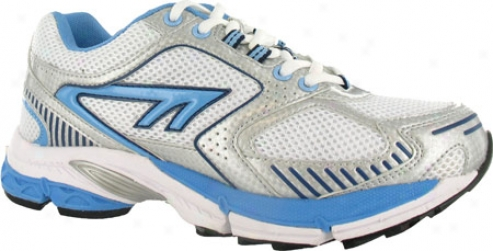 Hi-tec Ls 101 (women's) - White/silver/blue