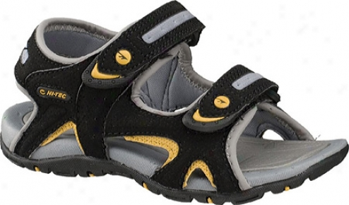 Hi-tec Owaka Jr (infants') - Black/grey/gold