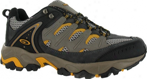 Hi-tec Sahara (men's) - Grey/black/yellow