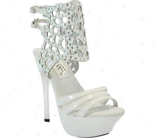 Highest Heel Angel-31 (wmen's) - White Patent Pu