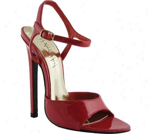 Highest Heel Bitchin (women's) - Red Patent