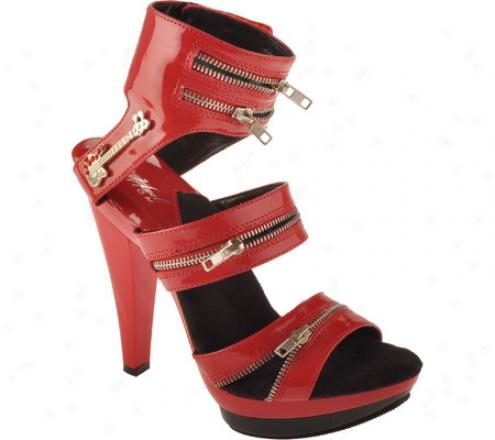 Highest Heel Sasha-104 (women's) - Red Patent Pu