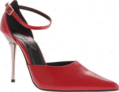 Highest Heel Slick (women's) - Red Pu