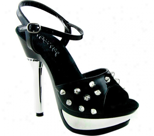 Highest Heel Trixie-11 (women's) - Black Patent Pu