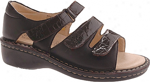 Hoopoe Andrea (women's) - Brown Croco