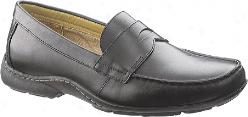 Hush Puppies Axis (men's) - Black Leather
